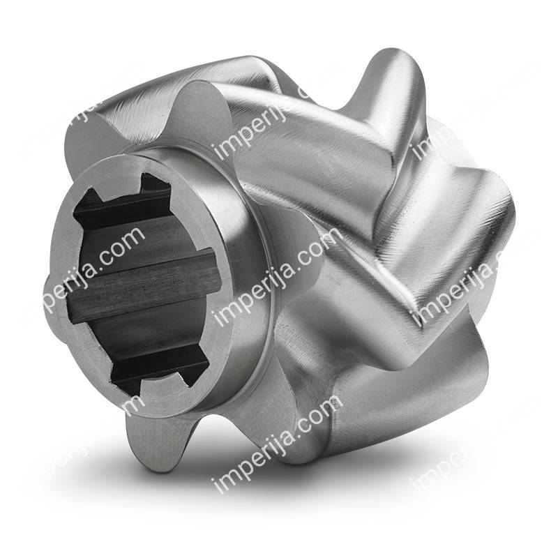 Pump chevron gear from stainless steel